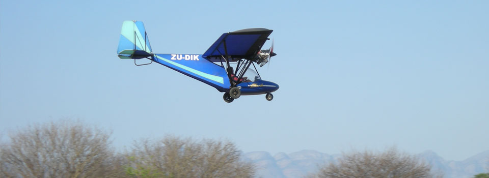 Microlight Flight over Hoedspruit